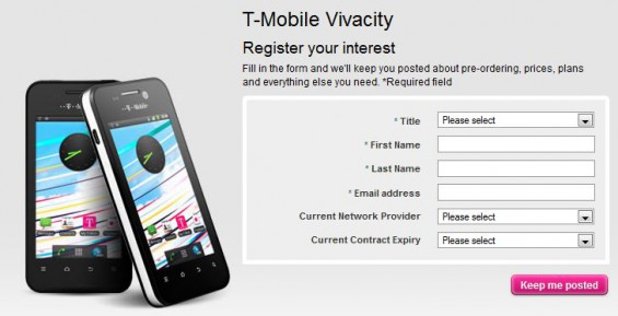 ZTE Provide another bargain   the T Mobile Vivacity
