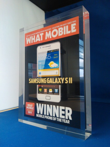 Galaxy SII wins Phone of the Year.. yet again