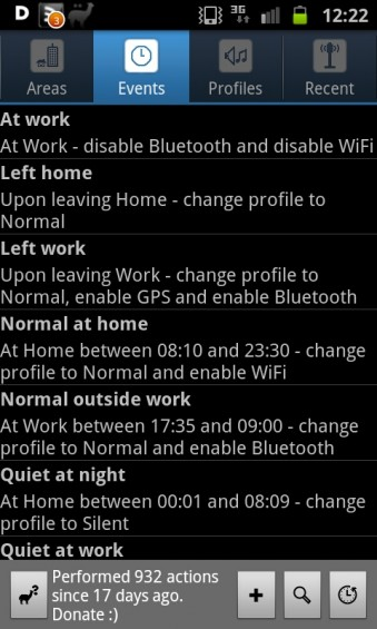 App Review   Llama Location Profiles
