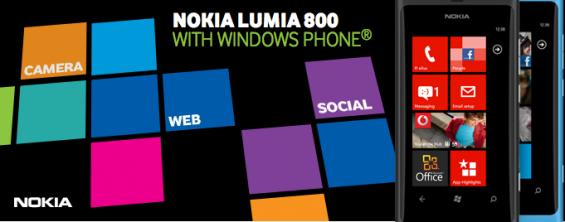 Cyan Lumia 800 Now On Vodafone
