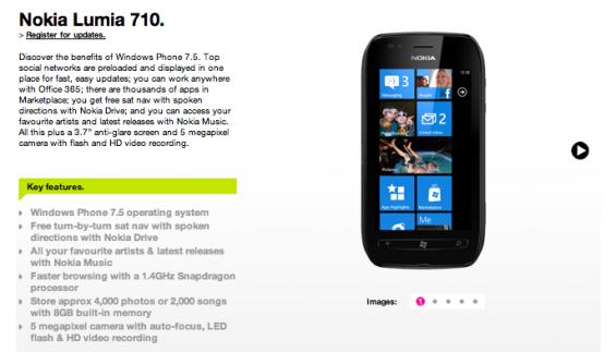 Three To Stock Nokia Lumia 710!