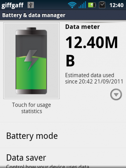 battery data manager