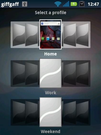 home profiles