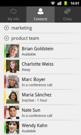 Microsoft Lync now for Android too