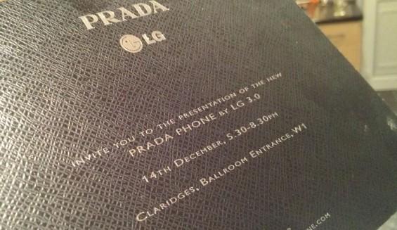 New LG Prada Phone