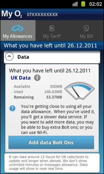 My O2 App Lands On Android