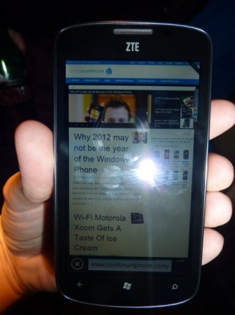 ZTE Tania   Hands on