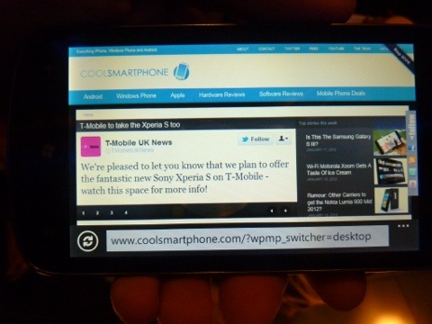 Coolsmartphone.com on the ZTE Tania