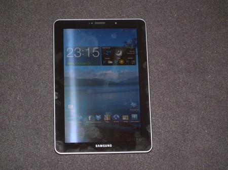 Samsung Galaxy Tab 7.7 follow up