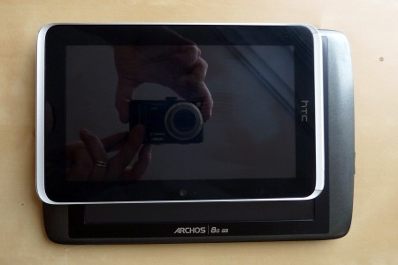 HTC Flyer vs. Archos 80 G9   thoughts and impressions