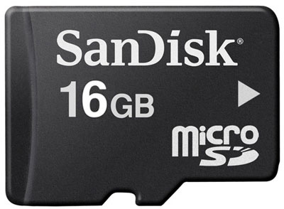 SanDisk 16GB Micro SD going cheap