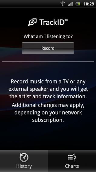 SE Xperia pro screenshot   trackid