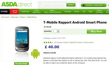 T Mobile Rapport still cheap to buy