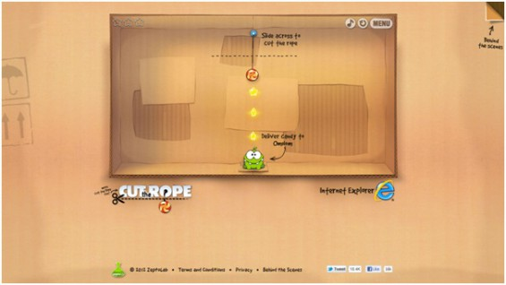 Fancy playing Cut the Rope on your PC?