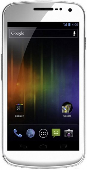 White Galaxy Nexus Due Next Month