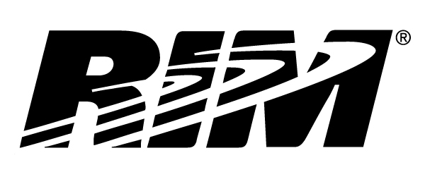 rim logo black