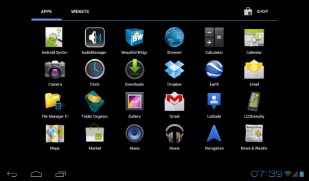 Advent Vega gets a custom Ice Cream Sandwich ROM