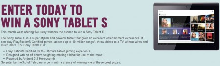 Win yourself a Sony Tablet S