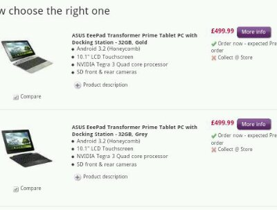 Asus Prime now selling in the UK