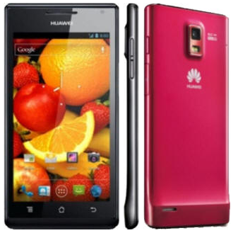 CES   Huawei go super slim with the Ascend P1 and P1 S