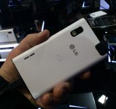MWC   LG Optimus L5   Up close