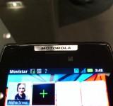 MWC   Motorola RAZR   Up close