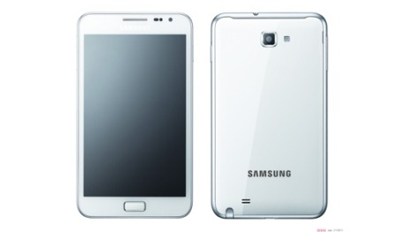 White Galaxy Note Comes To Three UK