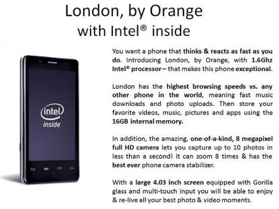 Orange London shot