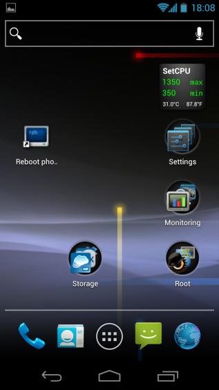 GScript desktop shortcut