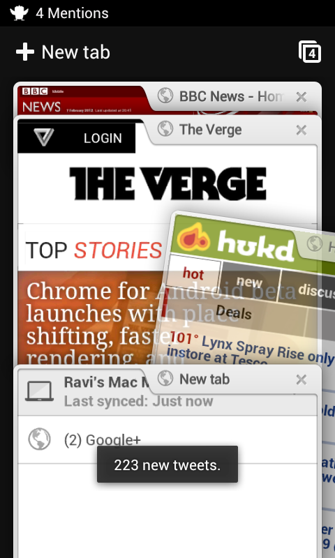 Chrome for Android now available