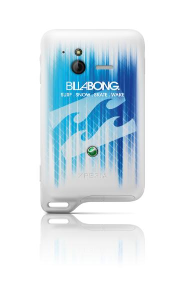 Xperia Active Billabong BlueWhite