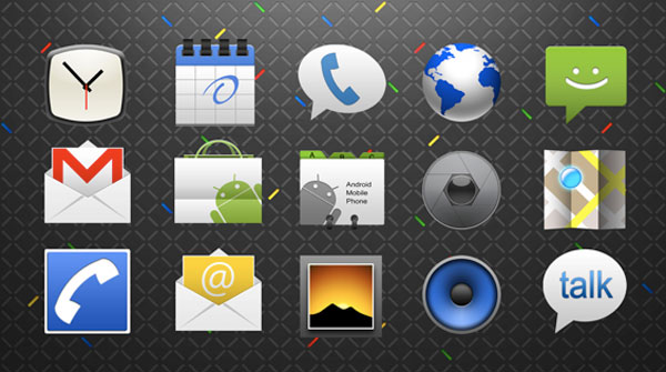 android application icon se