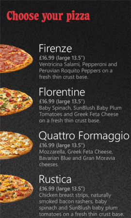 Dominos Pizza app now available on Windows Phone
