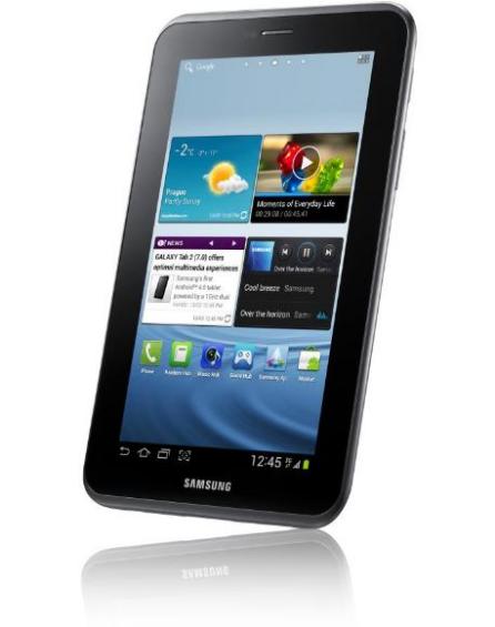 Samsung Galaxy Tab 2 Unveiled