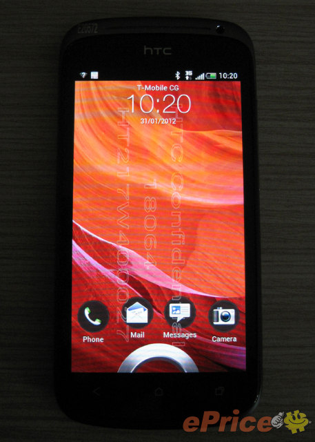 HTC Ville leaks all over the place. Specs and pics galore