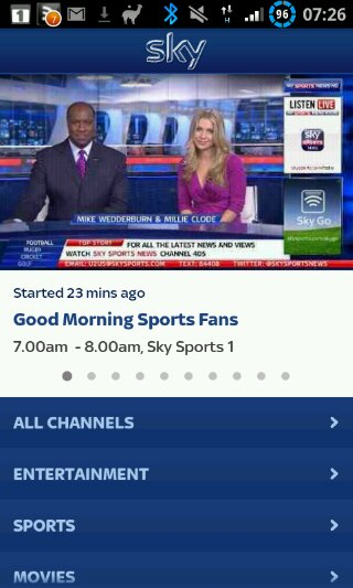 Sky Go available from today