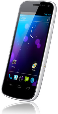 Samsung Galaxy Nexus available in white