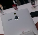 MWC   Xperia U   Up close