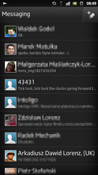 SXS screenshot messaging