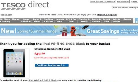 tesco direct ipad1