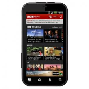 UK News Site Use From Mobile Devices