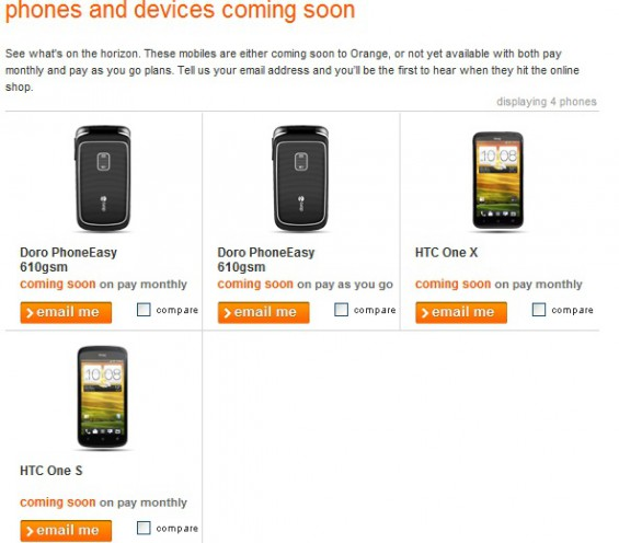 HTC X and S coming soon