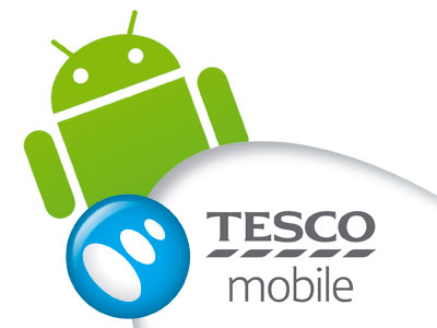Tesco Mobile Android logo