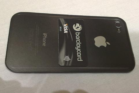 barclaycard paytag contactless payment laucnh iphone