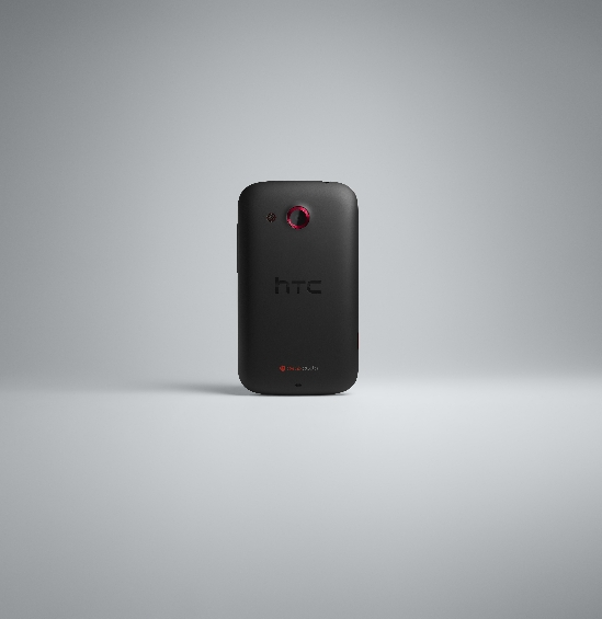 HTC Desire C BACK BLACK RGB
