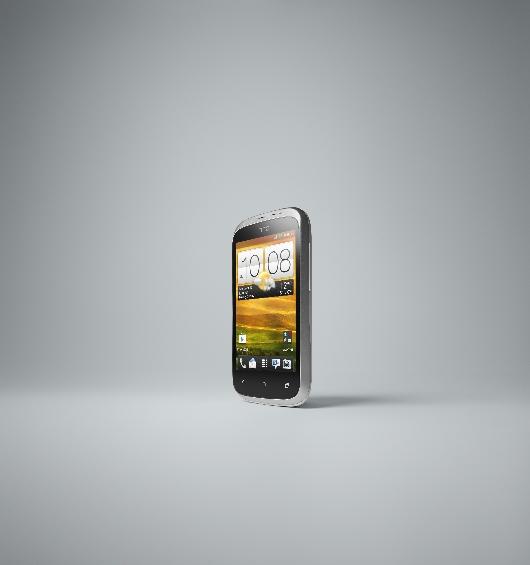HTC Desire C FRONT LEFT WHITE JPEG