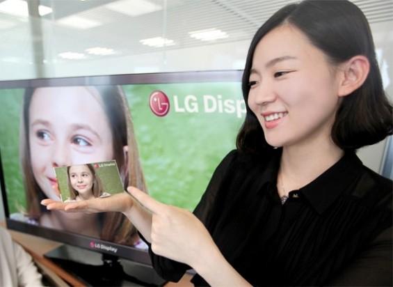 LG HD LCD Scrren