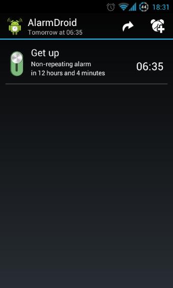 Alarm List