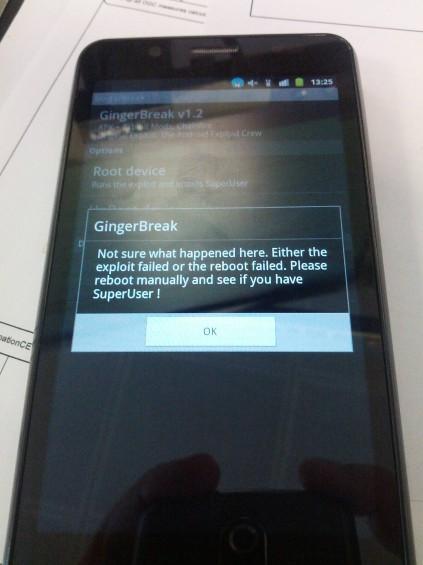 Gingerbreak fail