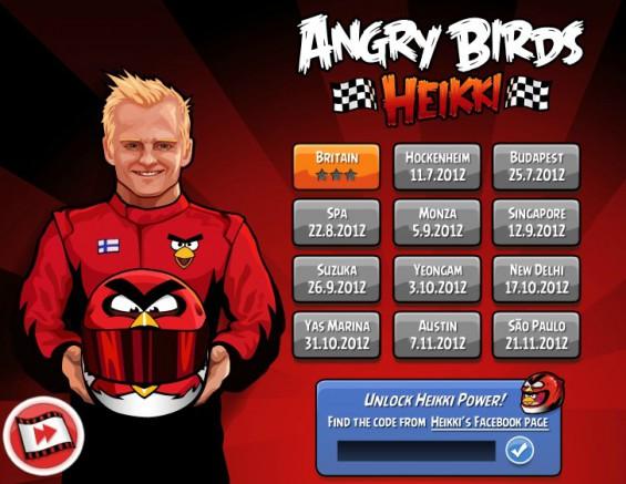 Heikki Angry Birds Levels